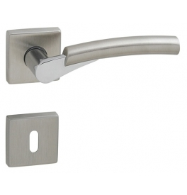 Handle BALI - HRN Q - OC / ONS - Polished chrome / brushed nickel