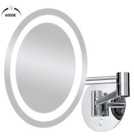 LED Kozmetické zväčšovacie zrkadlo NIMCO ZK 20165-26