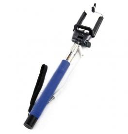 Selfie tyč s tlačítkem a připojovacím kabelem