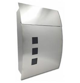 Mailbox X-FEST DUSTIN inox