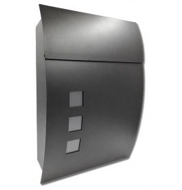 Mailbox X-FEST DUSTIN - Black
