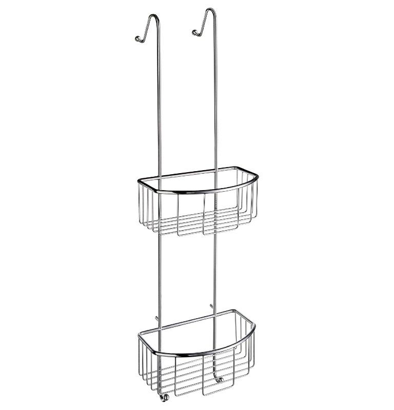 Dvojitá závěsná odkládací polička do sprchy SMEDBO SIDELINE DK1041