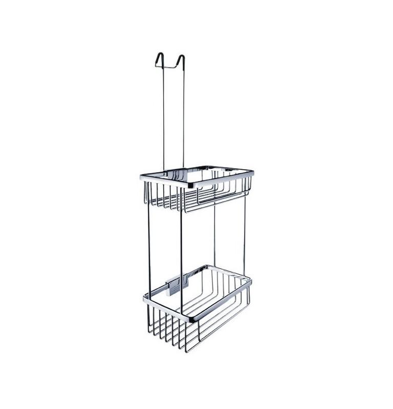 Double hanging shower basket NIMCO KIBO Ki 14017D-H-26