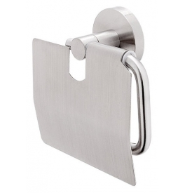 Toilet roll holder with lid NIMCO UNIX INOX UNM 13055B-10