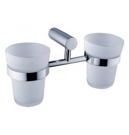 Podwójny uchwyt i dwie kubki do mycia zębów NIMCO BORMO