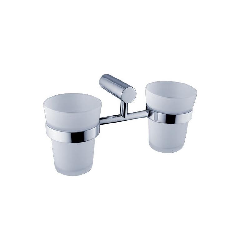 Držiak a dva poháre na zubné kefky NIMCO BORMO BR 11058D-C-26