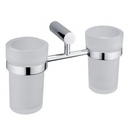 Holder with two cup for toothbrushs NIMCO BORMO