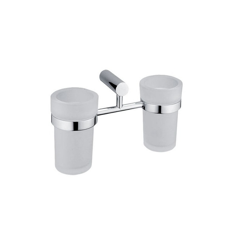 Holder with two cup for toothbrushs NIMCO BORMO BR 11058DW-26