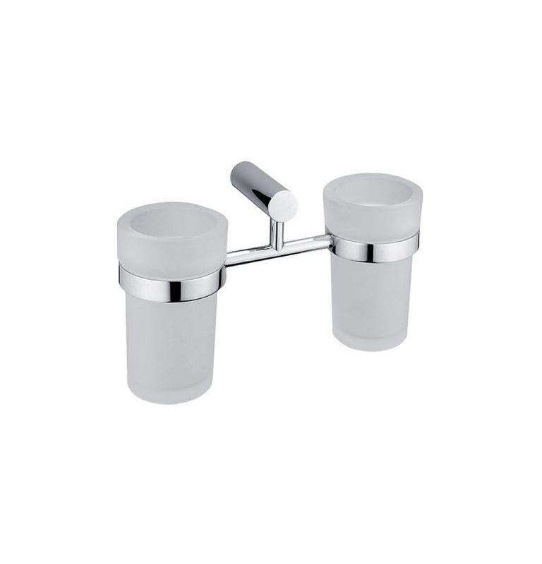 Podwójny uchwyt i dwie kubki do mycia zębów NIMCO BORMO BR 11058DW-26