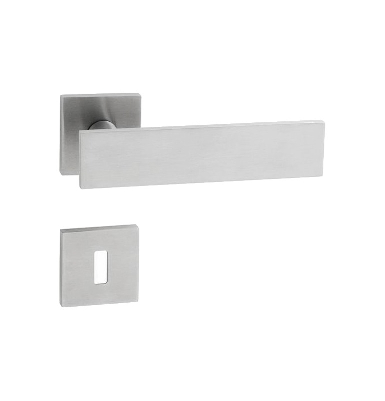 Handle JNF LEAF - HR - BN - Brushed stainless steel