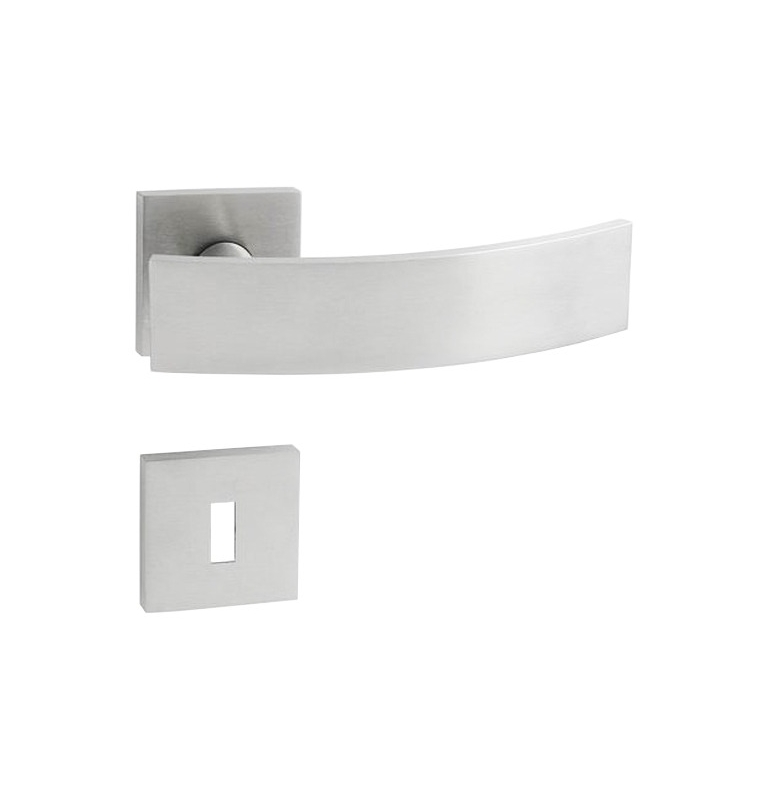Handle JNF ARCH - HR - BN - Brushed stainless steel
