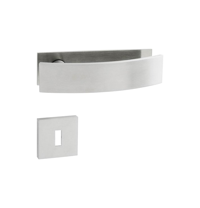 Handle JNF ARCH - OP - BN - Brushed stainless steel