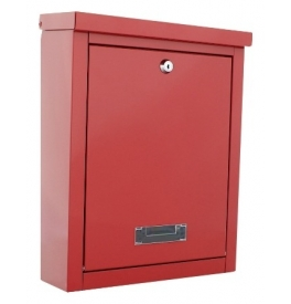Mailbox ROTTNER BRIGHTON - Red