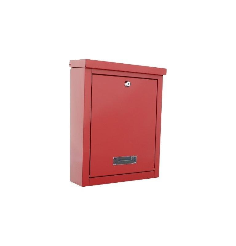 Skrzynka pocztowa ROTTNER BRIGHTON - Czerwona