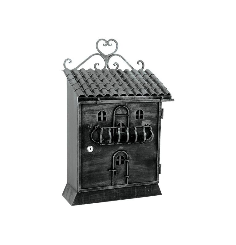 Mailbox FB614T - Black / Platinum silver
