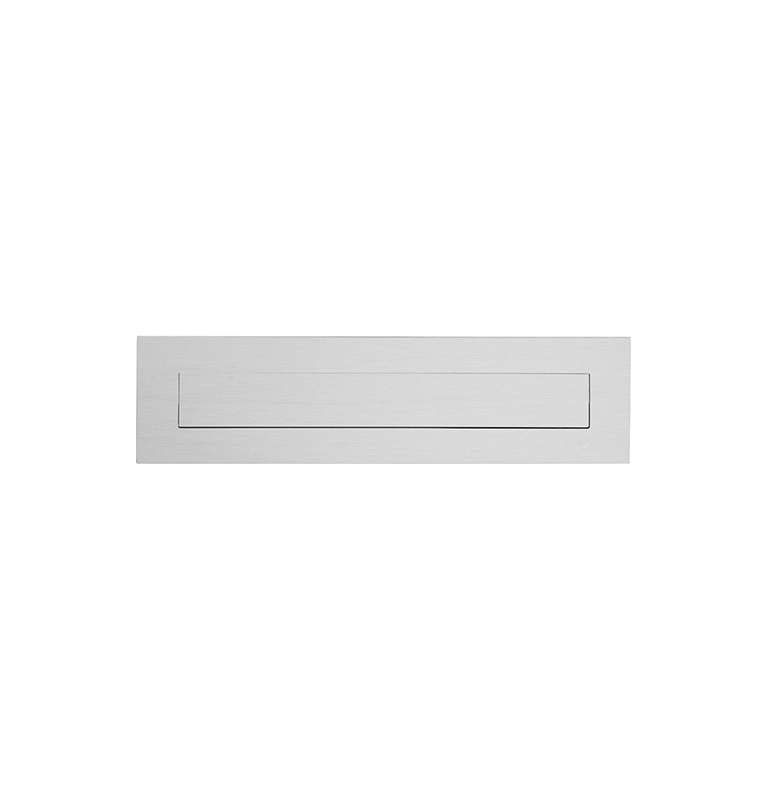 Mail slot JNF IN.24.547 - Brushed stainless steel