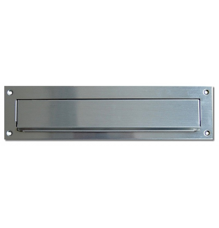 Mail slot X-FEST 040520 - Brushed stainless steel