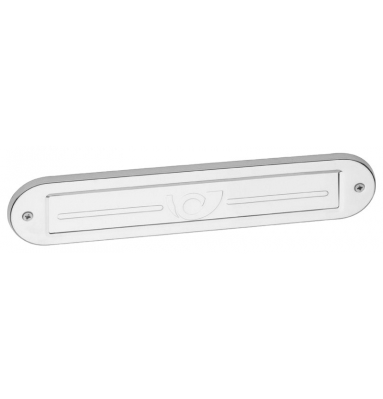Mail slot X-FEST 040445 - Polished stainless steel