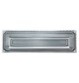 Mail slot 2600210 - Black / Platinum Silver