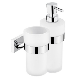 Cup for toothbrushs and Soap Dispenser NIMCO KEIRA