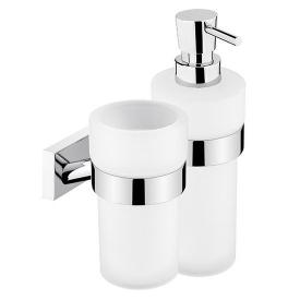 Kubek do mycia zębów i dozownik mydła NIMCO KEIRA KE 2205831W-T-26