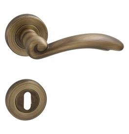 Kilincs FIRENZE - R - OGS - Súrolt bronz matt