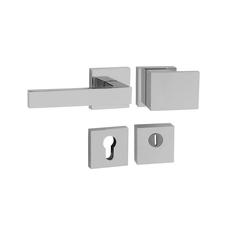 Bezpečnostná kľučka TUPAI CUBO/SQUARE - HR 3230/2275 - OC - Chróm lesklý