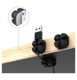 Silikonové držáky kabelů