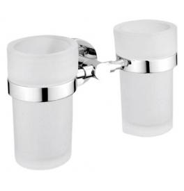 Držiak a dva poháre na zubné kefky NIMCO UNIX UN 13058DW-26