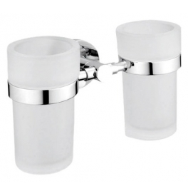 Holder with two cup for toothbrushs NIMCO UNIX