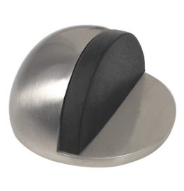 Door stopper ball glued - ONS - Brushed nickel