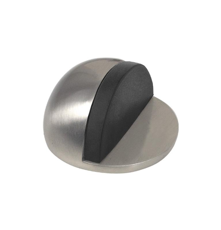 Nalepovací zarážka dveří polkopulka - NI - Nikl