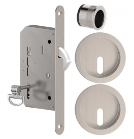 Set for sliding door METAL-BUD - ONS - Brushed nickel