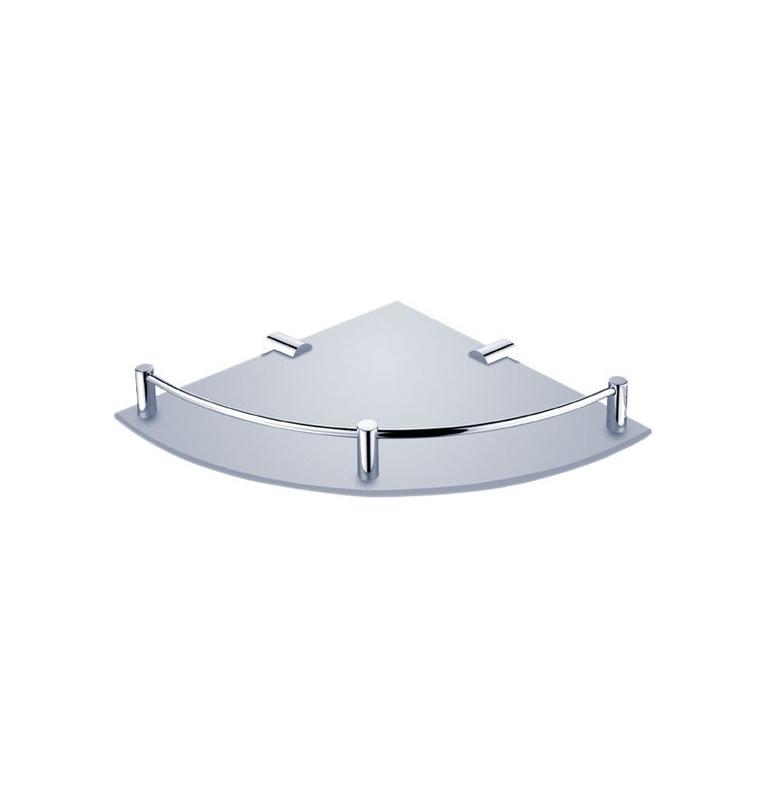 Glass corner shelf with brackets NIMCO BORMO BR 11091RA-26