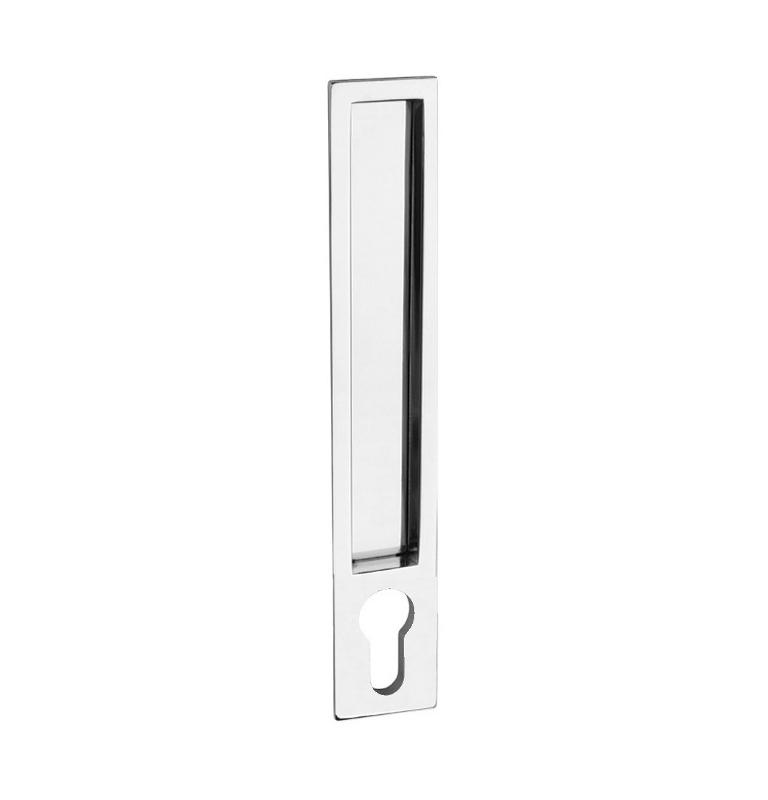 Mušle na posuvné dveře PAMAR 1098Z - OC - Chrom lesklý