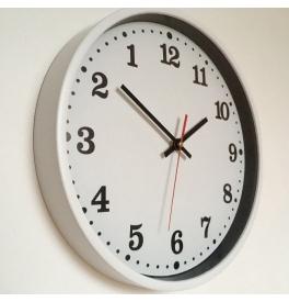 Obrácené nástěnné hodiny