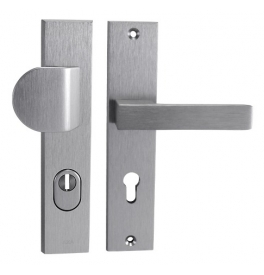 Security handle AXA OMEGA2 - Anodized INOX
