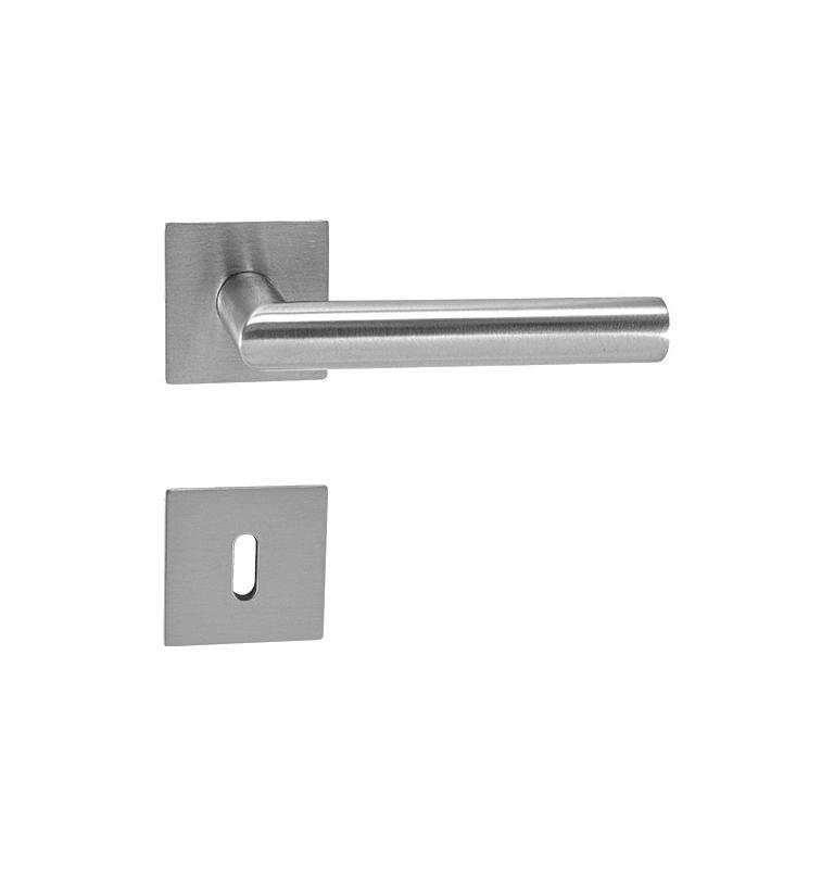 Handle Griffwerk LUCIA PIATA S QUATTRO - HR - BN - Brushed stainless steel