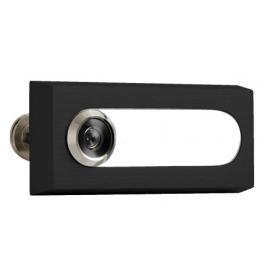 Wizjer optyczny z etykietą AXA - OMEGA 2 - F8 - Anodowane na czarno