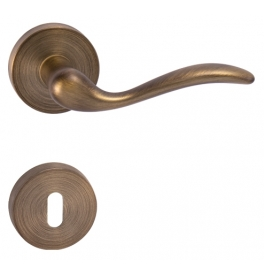 Handle FORME MINORCA - R - OGS - Mate antique brass