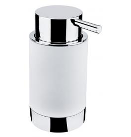 Dozownik mydła NIMCO LIO - Chrom błyszczący / biały