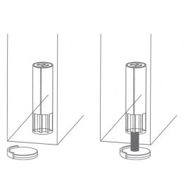 Mágneses ajtóütköző Model 1