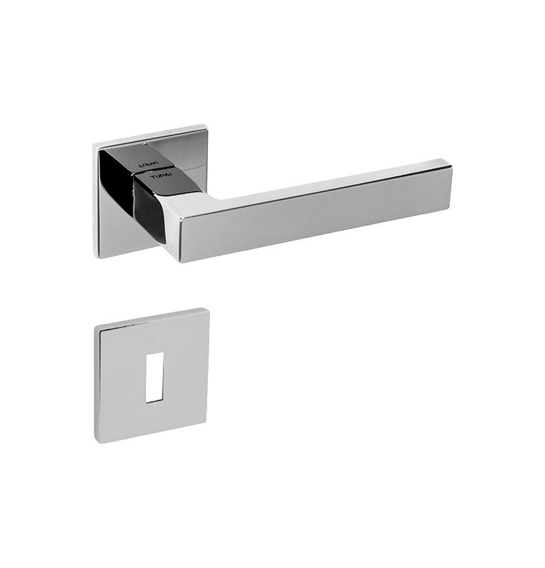 Handle SQUARE - HR 2275 5S - OC - Polished chrome