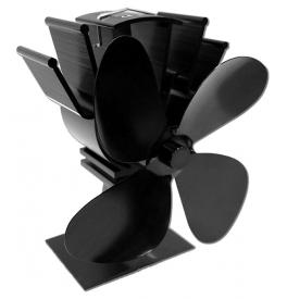 Termoelektrický ventilátor čierny (4 lopatky)