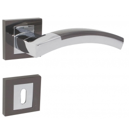 Handle LIENBACHER VECTOR - OC / BC - Polished chrome / Black chrome