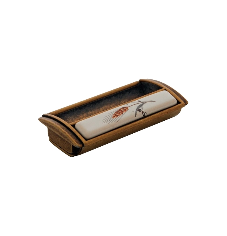 Furniture handle PEGGY COB - Patina on brass