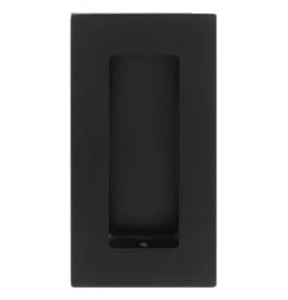 Mušľa na posuvné dvere TUPAI 1696 - Čierna matná