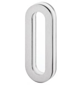 Griffmulde für Glasschiebetür JNF IN.16.562.A - Geschliffen edelstahl