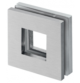 Shell for glass sliding door JNF IN.16.529 - Brushed stainless steel