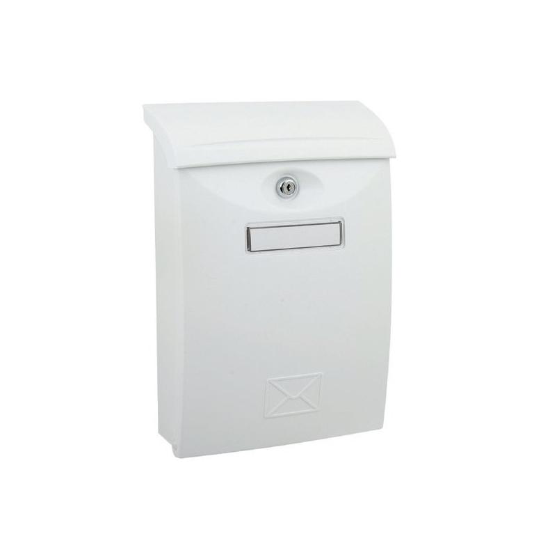 Poštovní schránka X-FEST ABS - Bílá